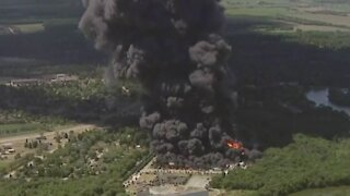Illinois Chemical Plant Fire Leads To Evacuations
