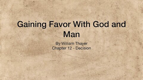 Chapter 12 - Decision