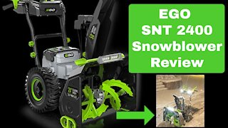 Ego 24 inch Snow Blower review