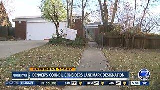 Denver's City Council considers new landmark designation