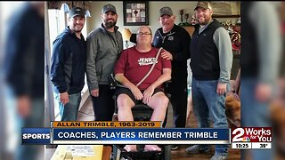 Former players, assistant coaches remember Allan Trimble