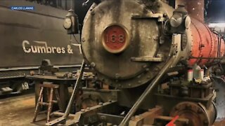 Restored Engine No. 168 returns to service after 75 years
