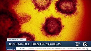 San Diego County reports first child COVID-19-related death