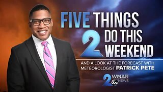 Five things 2 do this weekend during the coronavirus outbreak