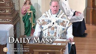 Fr. Richard Heilman's Sermon for Thursday, March 25, 2021