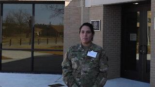 Staff Sgt. Sanjuanita Escobar Equal Opportunity Leaders Course