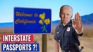 BREAKING: Biden MAY MANDATE Vaccine for Travel TO ANOTHER STATE