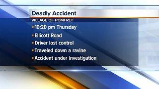 Deputies investigate deadly crash near Fredonia
