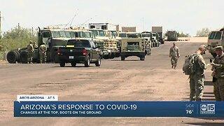 Arizona's response to COVID-19