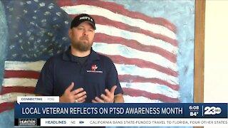 Bakersfield veteran reflects on PTSD Awareness Month
