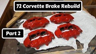 Part 2 of 72 Corvette Brake Rebuild