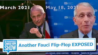 Another Fauci Flip-Flop EXPOSED