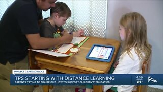TPS starting with distance learning