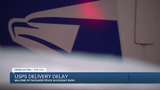 Shortage of postal workers due to pandemic causing delivery delays this holiday