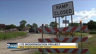 Phase 3 of I-75 modernization project kicks off today