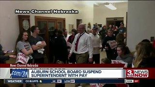 Auburn school board suspends Superintendent over video incident involving school fight
