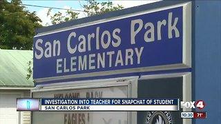 Elementary school teacher under investigation for recording student