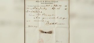President Abraham Lincoln belongings sold at auction