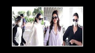 Parineeti Chopra, Karisma Kapoor with son, Karishma tanna snapped at the airport | SpotboyE