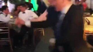 Students can't believe how well their teacher dances