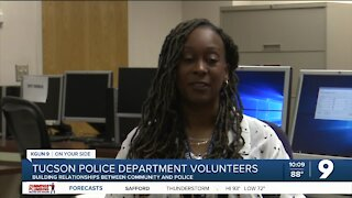 Tucson Police volunteer says her work is helping build a relationship with officers