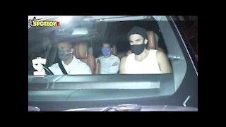 Ranbir Kapoor and Aditya Roy Kapur Spotted outside Arjun Kapoor's residence | SpotboyE