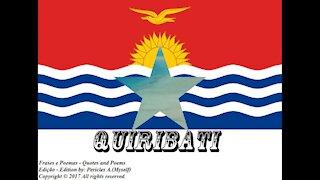 Bandeiras e fotos dos países do mundo: Quiribati [Frases e Poemas]