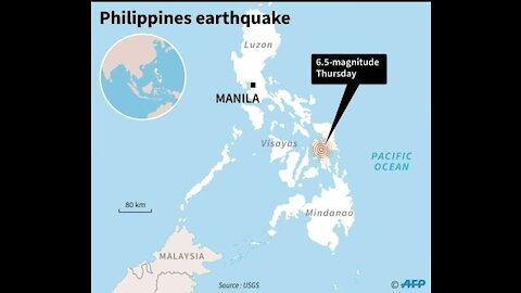 Philippines Strong Quake 6.8M Hits - USA Conceals - The Church Will Be Removed! #Faith