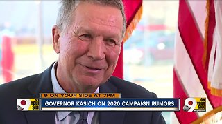 Kasich addresses 2020 campaign rumors