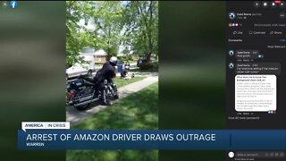 Warren police officer on paid leave after arrest video goes viral