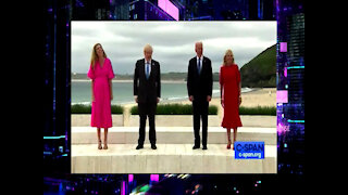 """We Sent America's """"Chocolate Chocolate Chip Guy"""" and It Showed As Biden Embarrasses U.S. at G7"""