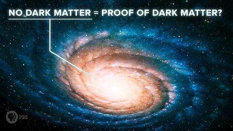 No Dark Matter = Proof of Dark Matter?