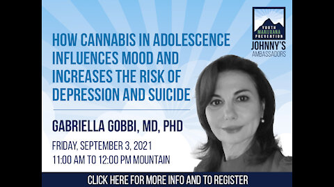 How Cannabis in Adolescence Influences Mood and Increases the Risk of Depression and Suicide