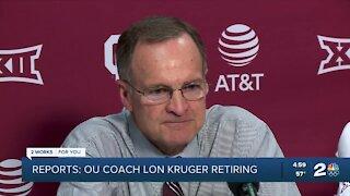 OU men's basketball coach Lon Kruger retiring