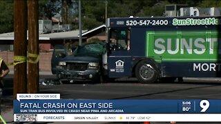 Police investigate deadly Sunday crash near east side