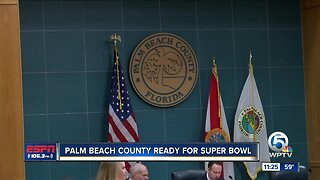 Palm Beach County commissioners announce Super Bowl celebration week for Palm Beach County