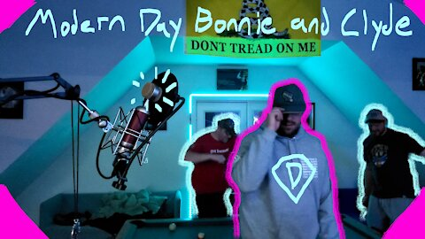 """""""Modern Day Bonnie and Clyde"""" By Steak Horns COVER"""