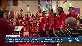Cherokee Nation Youth Choir Entertaining Amid COVID-19