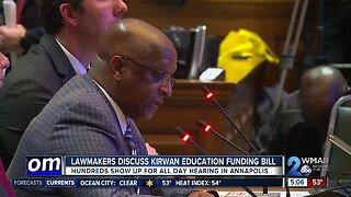 Lawmakers discuss Kirwan Education Funding Bill