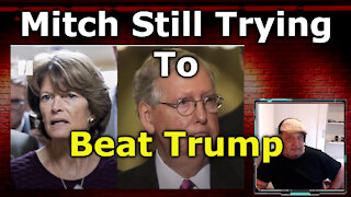 Mitch McConnel Lends Support Behind Trump-Hating RINO Lisa Murkowski