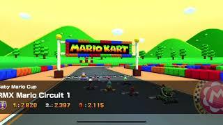Mario Kart Tour - RMX Mario Circuit 1 Gameplay (Baby Mario Cup)