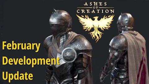 Ashes of Creation February Development Update (Summary)
