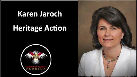 Karen Jaroch, Florida regional coordinator for Heritage Action
