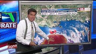 Tropical Storm Barry strengthens, nears hurricane status