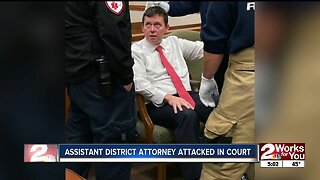 Tulsa County prosecutor attacked in court
