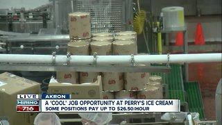Perry's Ice Cream hiring and promoting from within!