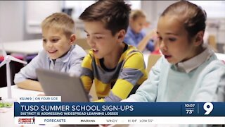 TUSD Summer School to address pandemic learning loss