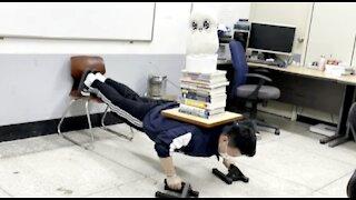 K-Rocky in University Lab