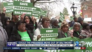 Mayor Catherine Pugh, dozens of city residents rally to keep Preakness in Baltimore