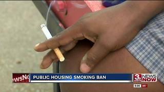 Public housing smoking ban impacting locals